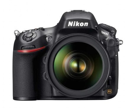 Nikon D800 FX DSLR Camera : Front View
