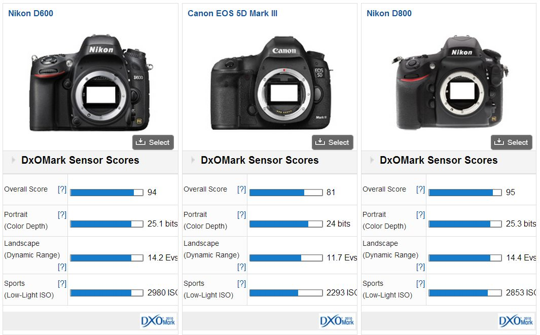 Nikon D600 Vs Canon 6D - Entry Level Full Frame Scrap