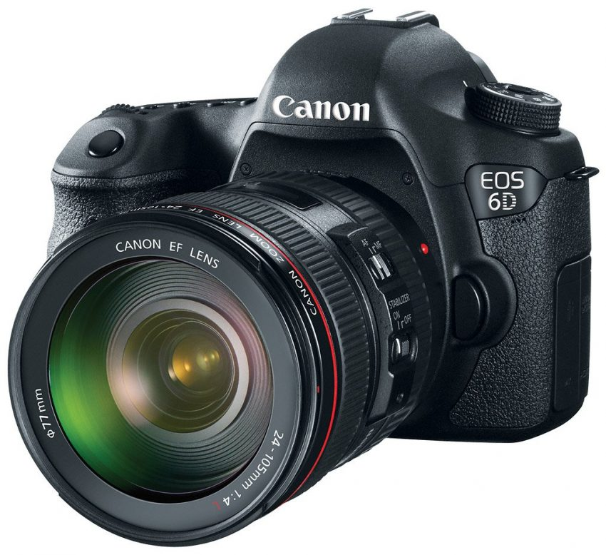 Canon 6D Full Frame Camera : Left Side