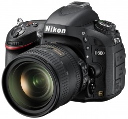 Nikon D600 Full Frame Camera : Left Side