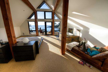 Ucluelet BC Vacation : 2012-10 : Condo upstairs