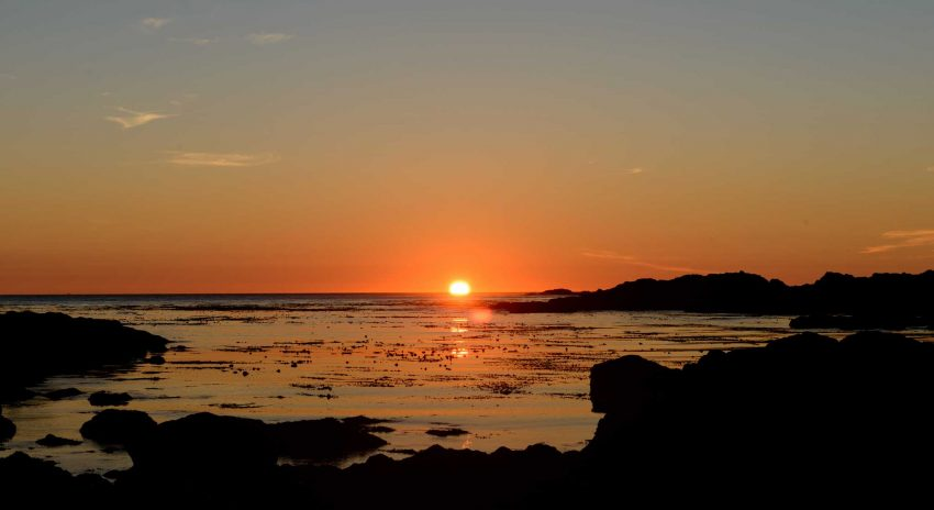 Ucluelet BC Vacation : 2012-10 : Sunset Day One