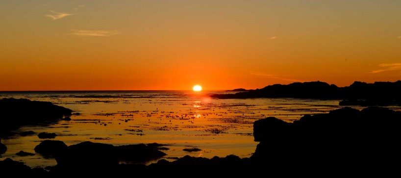 Ucluelet BC Vacation : 2012-10 : Sunset Day 1