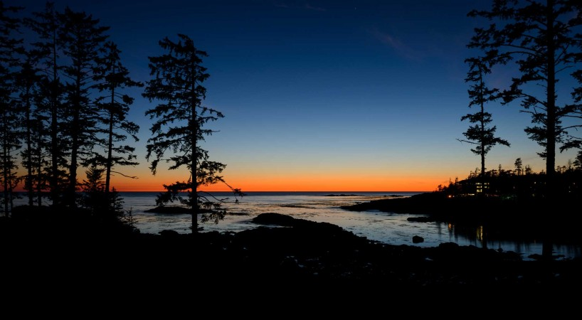 Ucluelet BC Vacation : 2012-10 : Sunset Day One 2
