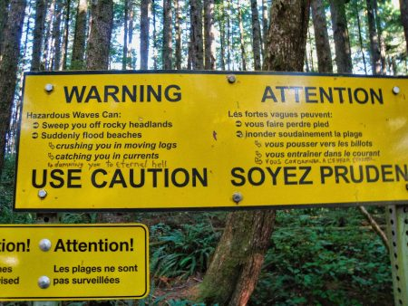 Ucluelet BC Vacation : 2012-10 : Funny Sign