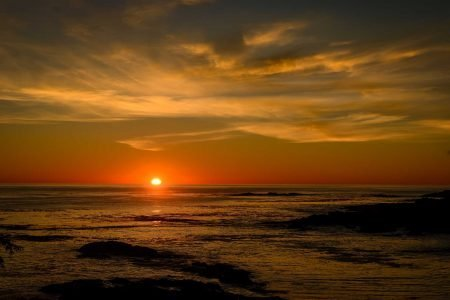 Ucluelet BC Vacation : 2012-10 : Big Beach Sunset