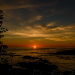 Ucluelet BC Vacation : 2012-10 : Big Beach Sunset 2