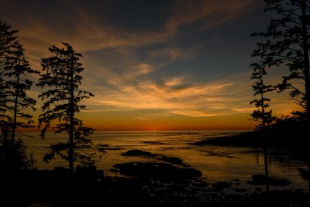 Ucluelet BC Vacation : 2012-10 : Big Beach Sunset 3