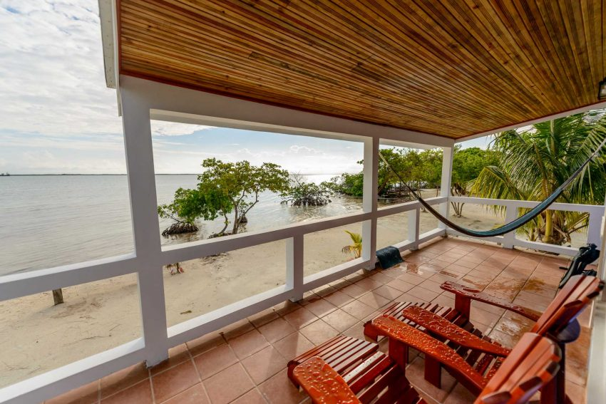 2012-12-01 : Belize Vacation : Coco Plum Island Resort : Cabana View