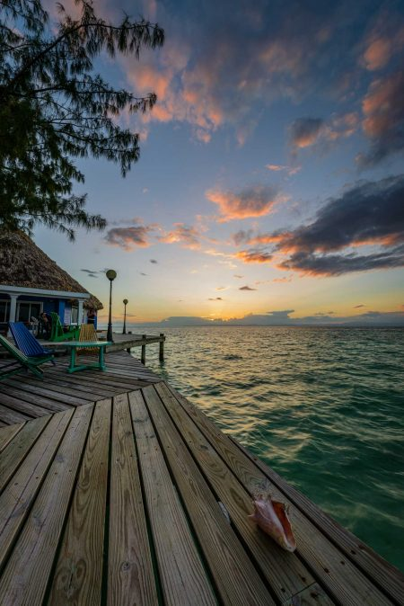 2012-12-02 : Belize Vacation : Coco Plum Island Resort : Sunset