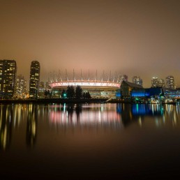 False Creek Fog - 2013-02-03 : BC Place