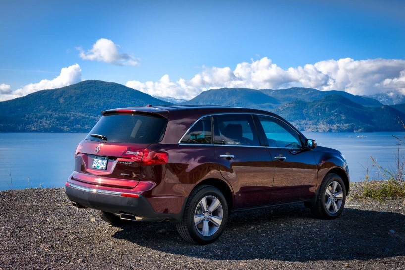 2013 Acura MDX Tech Edition - Dark Cherry Pearl - Sea To Sky Highway