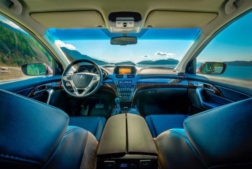 2013 Acura MDX Tech Edition - Dark Cherry Pearl - Sea To Sky Highway Interior