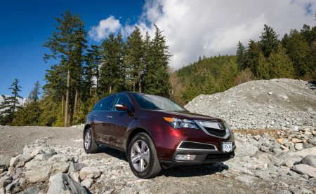 2013 Acura MDX Tech Edition - Dark Cherry Pearl - Sea To Sky Highway Gravel Pit