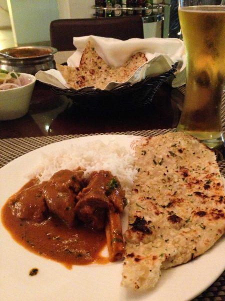 2012 Oct : Mumbai India Visit : Curry Goat