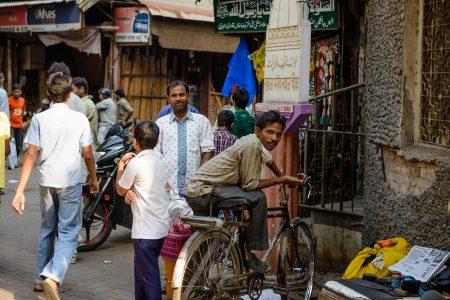 2012 Oct : Mumbai India Visit : Chor Bazaar People