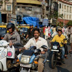 2012 Oct : Mumbai India Visit : Chor Bazaar People Watching 2