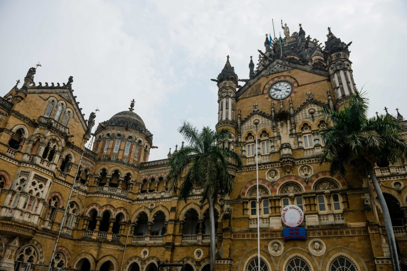 Oct 2012 : Mumbai Visit : Train Station