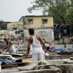 Oct 2012 : Mumbai Visit : Dhobi Ghat Open Air Laundry