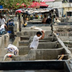 Oct 2012 : Mumbai Visit : Dhobi Ghat Open Air Laundry 2