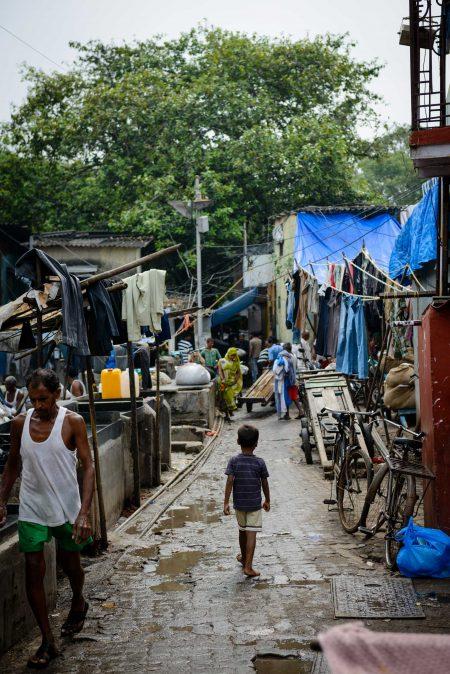Oct 2012 : Mumbai Visit : Dhobi Ghat Open Air Laundry 5 (Child)
