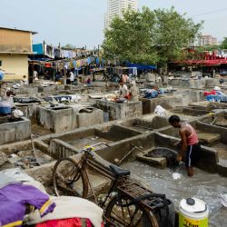 Oct 2012 : Mumbai Visit : Dhobi Ghat Open Air Laundry 7