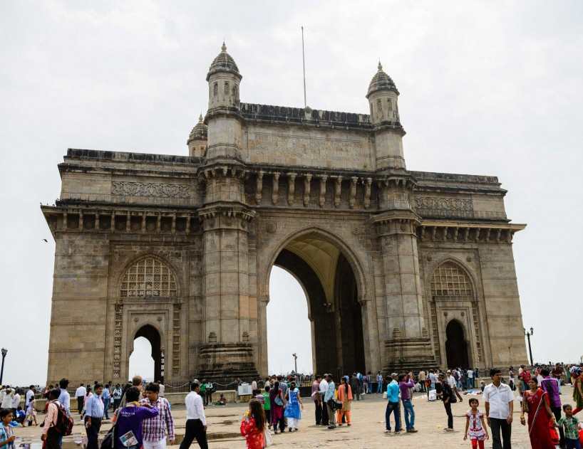 Oct 2012 : Mumbai Visit : Gate of India