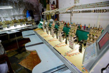 Oct 2012 : Mumbai Visit : Dharavi textiles
