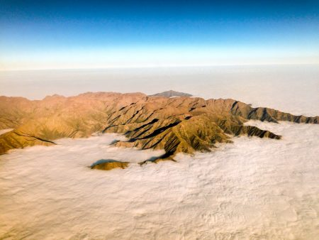 Chile iPhone 5 : From Plane : Atacama Desert