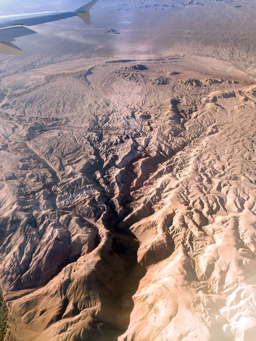 Chile iPhone 5 : From Plane : Atacama Desert 3