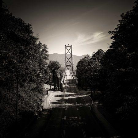 Slow Road To Squamish: Lions Gate Bridge