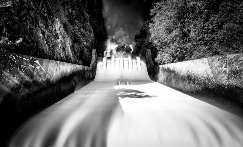 Slow Road To Squamish: Cleveland Dam spillway