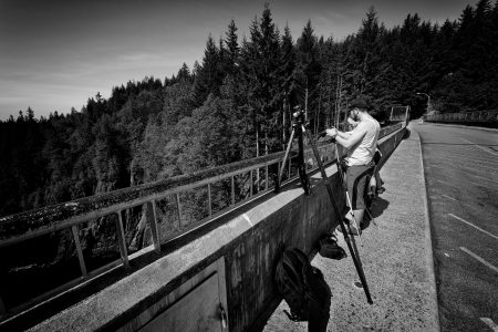 Slow Road To Squamish: Shooting on the Cleveland Dam