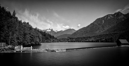 Slow Road To Squamish: Capilano Reservoir