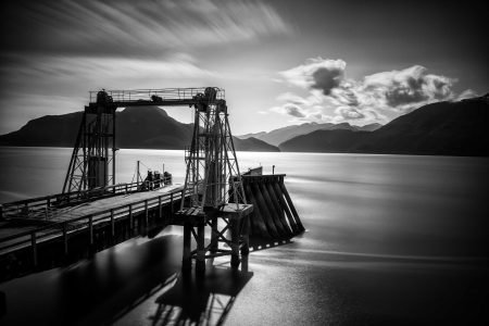 Slow Road To Squamish: Porteau Cove Ferry Dock