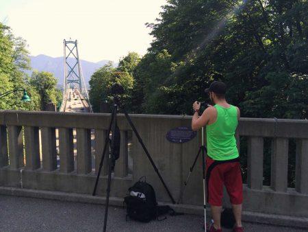 Slow Road To Squamish: iPhone 5S Lions Gate Bridge - Eli