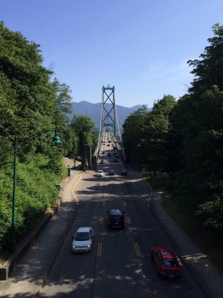 Slow Road To Squamish: iPhone 5S Lions Gate Bridge