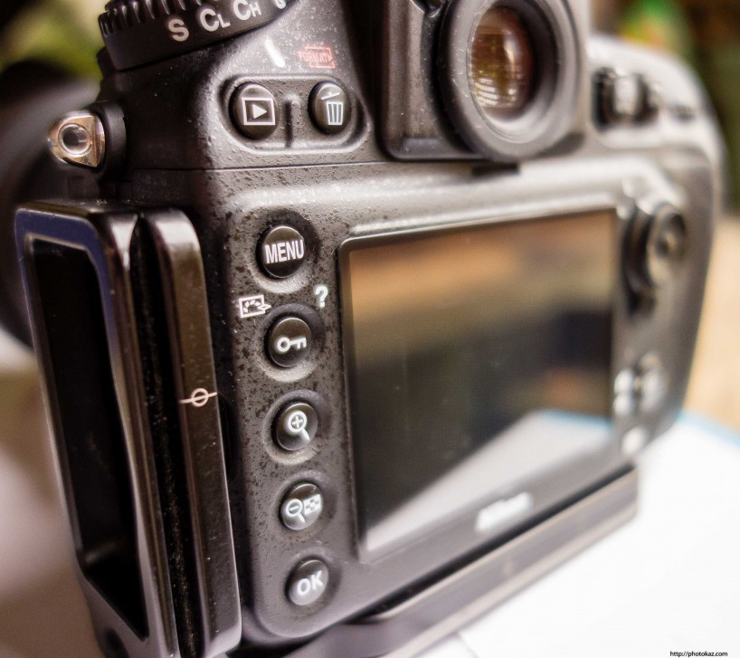 Expert Shield vs GGS Screen Protector : GGS on Nikon D800 2