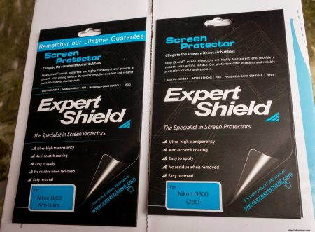 Expert Shield vs GGS Screen Protector : Anti-Glare and Standard