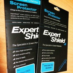 Expert Shield Free Draw - Screen protectors for RX100 and D800