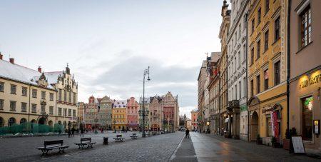 Wrocław, Poland : Rynek / Market Square : 2015-02-08