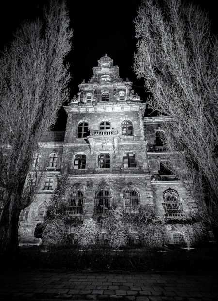 Wrocław, Poland : National Museum Black & White : 2015-02-13