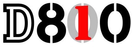 Nikon D800 to D810 Logo