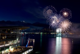 Canada Day Fireworks - Canada Place, Vancouver, BC - 2015-07-01 : 2