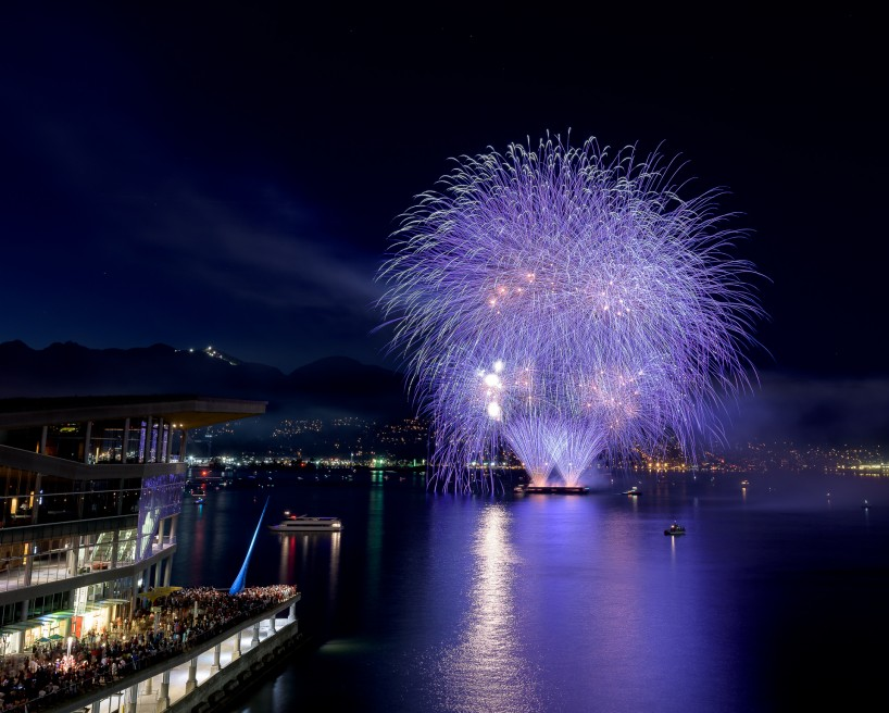 Canada Day Fireworks - Canada Place, Vancouver, BC - 2015-07-01 : 4