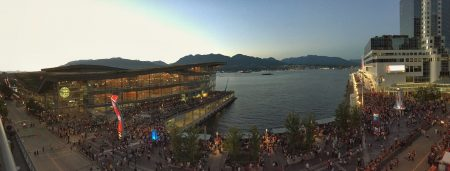 Canada Day at Canada Place iPhone Panorama : July 1, 2015