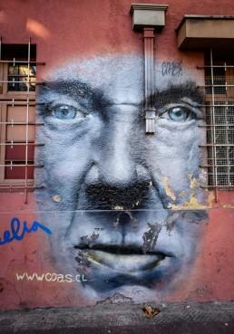 Graffiti in Santiago, Chile