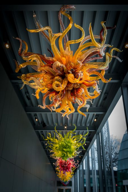 Dale Chihuly Glass Art : 2013-01-05 : Chandelier