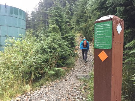 Saint Marks Summit Hike - Sept 2016 - Well Marked