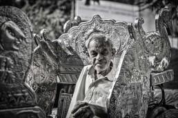 Old Man in Mumbai